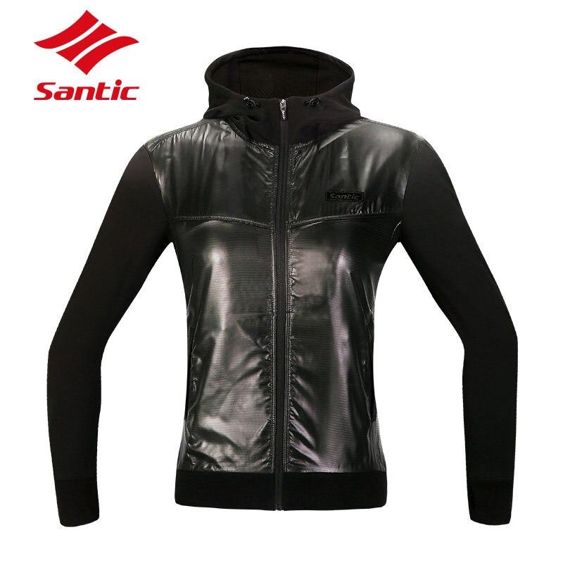 ФОТО Santic Fleece Thermal Cycling Jacket Women Winter Windproof Warm Cycling Clothing Bicycle Bike Jacket Chaqueta Ciclismo