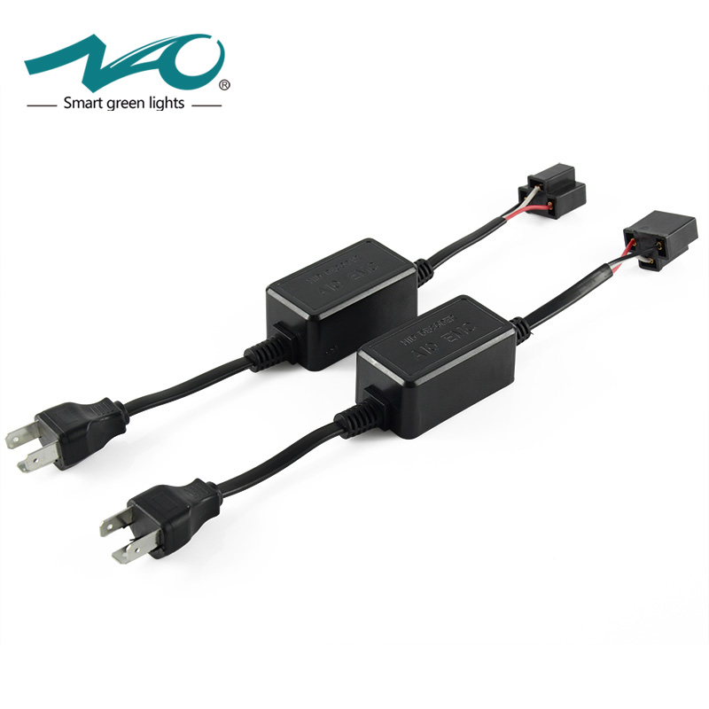 цена на NAO H7 led CANBUS H4 LED Super Decoder H11 9005 9006 HB3 HB4 H1 H3 Car Warning Canceller Error Capacitor for led headlight