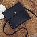 Женщины Двойной Малый Сумка Повседневная кожа Черный Девушки мини Сумка Crossbody сумка для Женщин портмоне маленький мешок