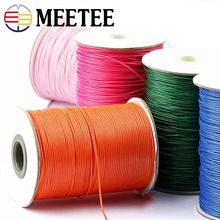 1Roll High Tenacity Waxed Thread Polyester Cord Wedding Gift Bouquet Packing Rope DIY Bead Bracelet Cords DIY Crafts