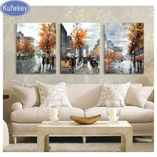 3pcs/set Diamond Painting london Landscape City Street Full Square Mosaic Diamond Embroidery full display Rhinestone Picture 5d(China)