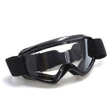 Очки защиты для спорта велосипед MTB BMX ATV команды лыжи сноуборд мото крест черный