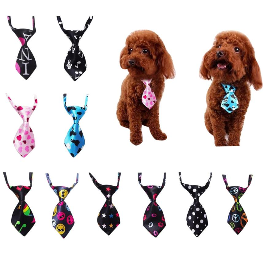 Transer Adjustable Dog Cat Pet Tie Puppy Toy Grooming Bow Tie Necktie Clothes Jan19