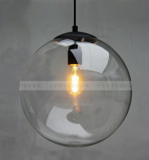 Online shop free shipping pendant lights lamp crystal ball bar free shipping pendant lights lamp crystal ball bar coffee living room clear glass ball pendant glass ball pendant lamps gy69 aloadofball