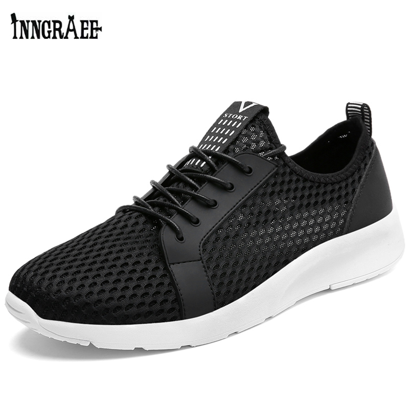 Running Shoes Analytical Summer Shoes Men Breathable Running Shoes Sneakers Men Sport Shoes Krasovki Men Sneakers Black Zapatillas Hombre Deportiva C8062 Clear-Cut Texture