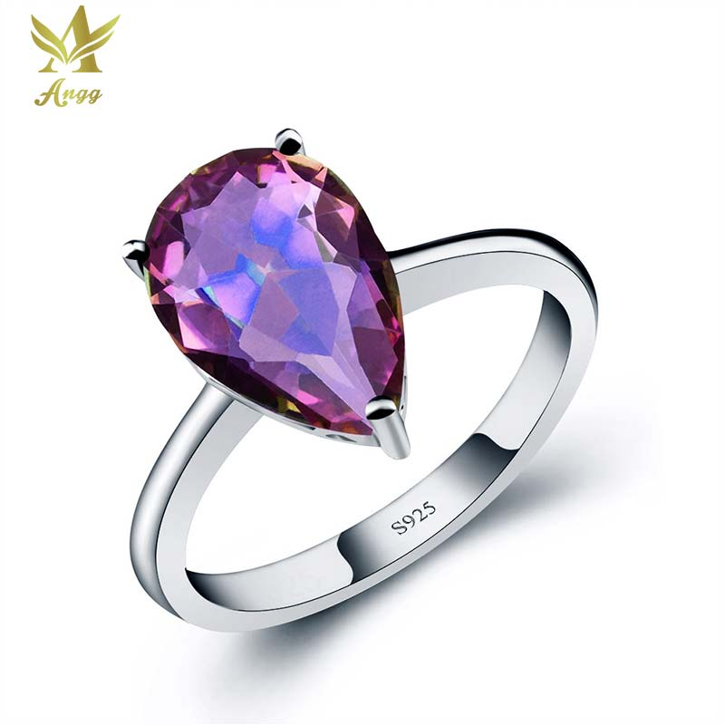 pink ring overstock jewelry watches mystic on plated opal shipping over and orders topaz fire black rhodium product white free rings