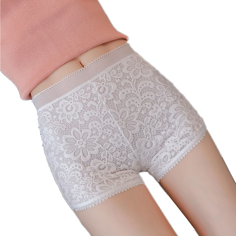 YGYEEG Hot Sale 2020 Lace Shorts New Arrive Women Sexy Summer Ladies Casual Shorts Women High Wais Short White Solid Lace Short