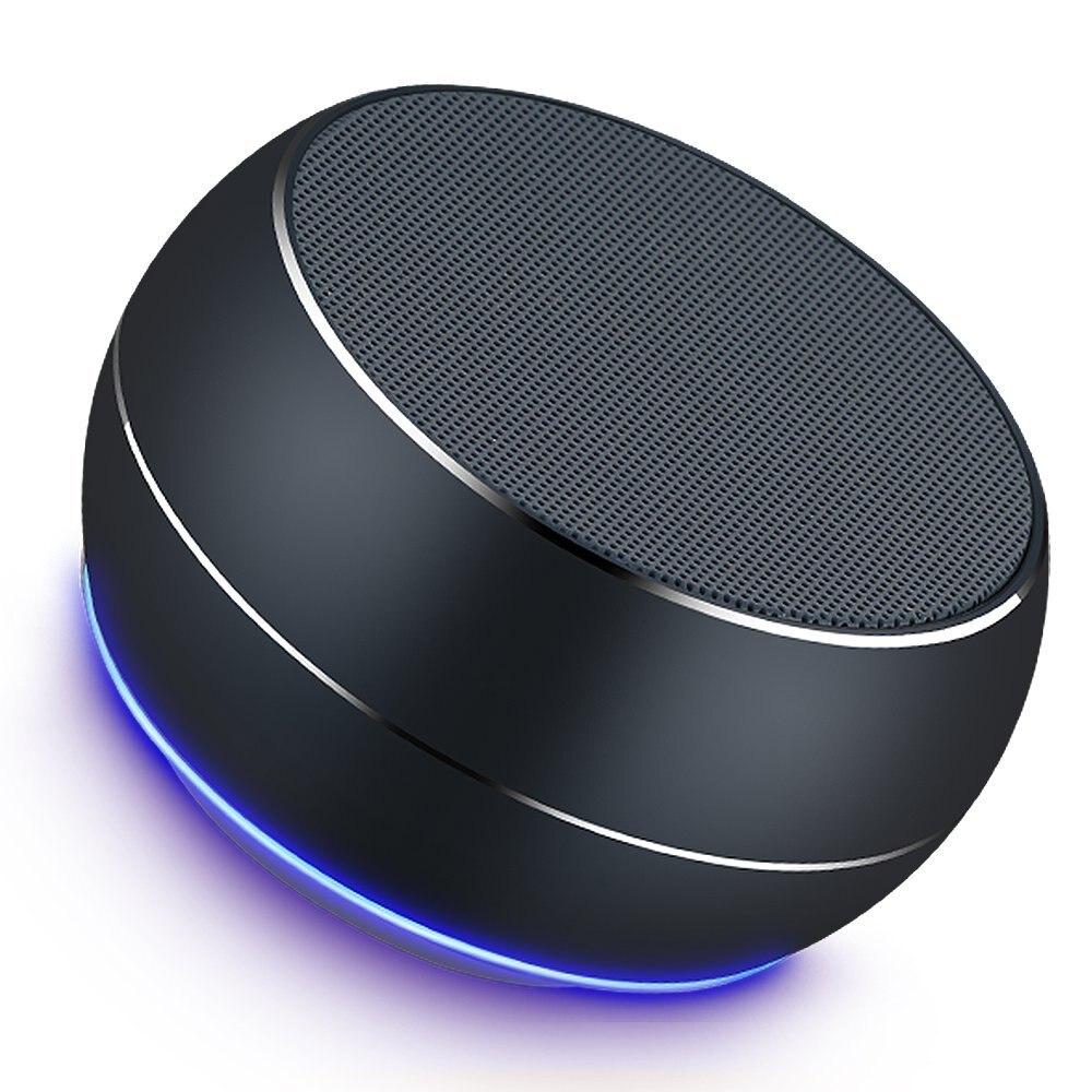 Tragbare Bluetooth Neue Lautsprecher drahtlose lautsprecher metall mini tragbare subwoof sound mit Mic tf-karte AUX MP3 Player Tasche Audio