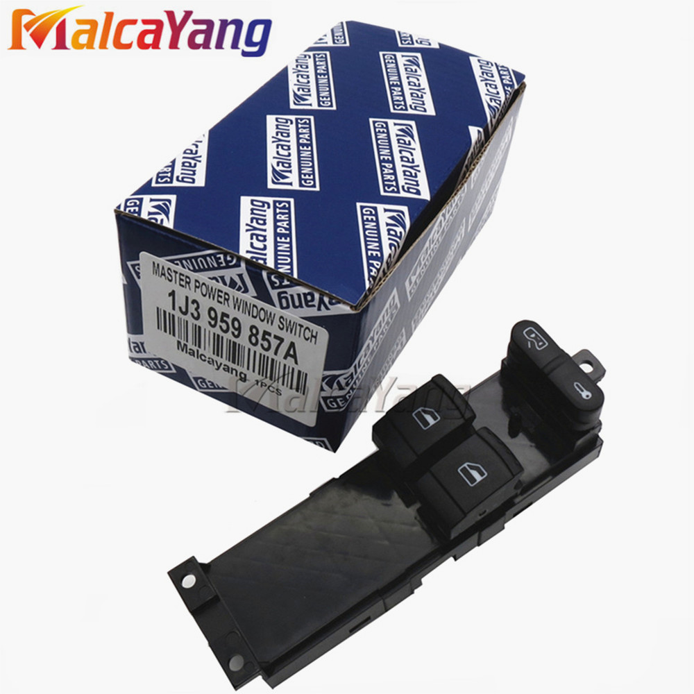 1j3959857a Window Panel Switch For Skoda Fabia 6y 1999 2009 Fuse Box In Octavia A4 1u