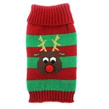 Yorkie's Christmas Elk Sweater