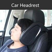 180 Degree Adjustable Car Seat Headrest Sleeping Neck Protect Cushion Headrest for Honda Toyota Nissan Kia Audi Mazda