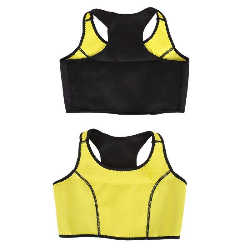 Summer Outdoor Women Buttock Toning Vest to Lose Weight Slimming Belts Body Garment Sportswear Bra Vest