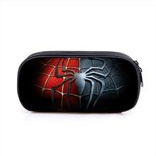 Star War Superhero Spiderman Boy Girl Cartoon Pencil Case Bag School Pouches Children Student Pen Bag