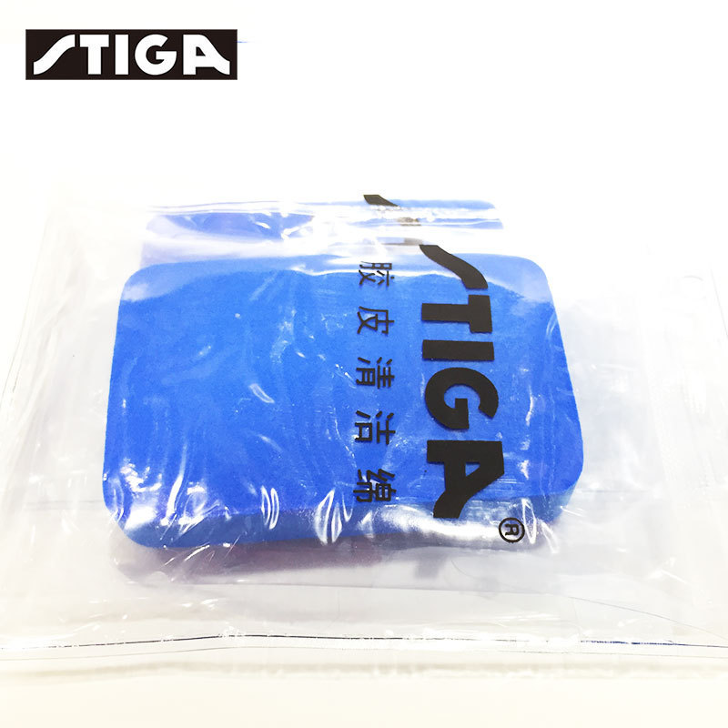 Table Tennis Rubber Cleaning Sponge Stiga 2pcs/lot Professional Ping Pong Set Accessories Tenis De Mesa