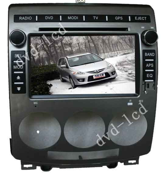 Mazda 5 Radio Stereo Navi Car Dvd Player Gps Navigation System Win Ce6 0 Pip Tv Bluetooth Ipod Hd Lcd In Multimedia From Automobiles