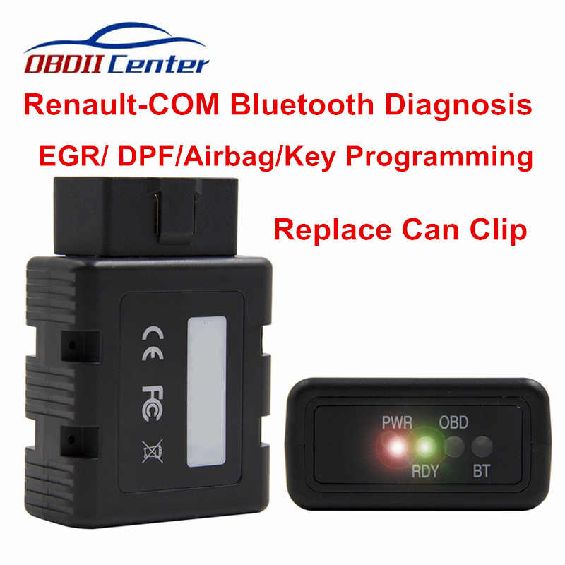 Nieuw Voor Renult-COM Bluetooth Diagnose Scanner Vervangen Kan Clip Volledige Chip Interface Key Programma ECU Code Reader