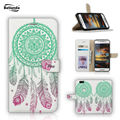 Huawei Mate 8 Luxuy Wallet Leather Case for Huawei Mate 8 6.0'' Phone Cover with Stand Function and Card Holder Dream Catcher