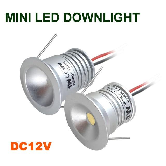 ip65 1w 12v dc mini led downlight 80ra outdoor led bulb light for