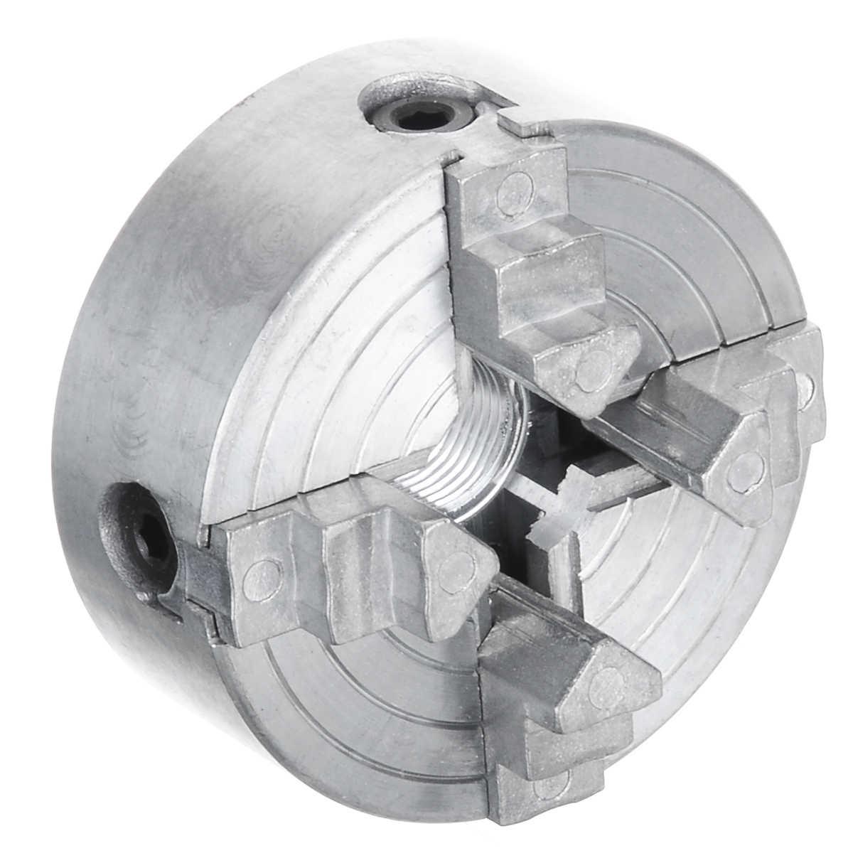 1 pièces Z011A Mini pince métal 4 mâchoires tour mandrin pinces 1.8 ~ 56mm/12 ~ 65mm M12 filetage bois tour accessoires