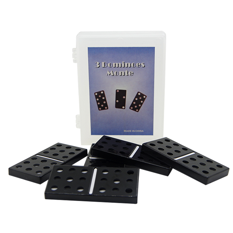 Boxed mysterious 3 dominoes Montmartre close-up magic stage props classic toys 400 magic ...