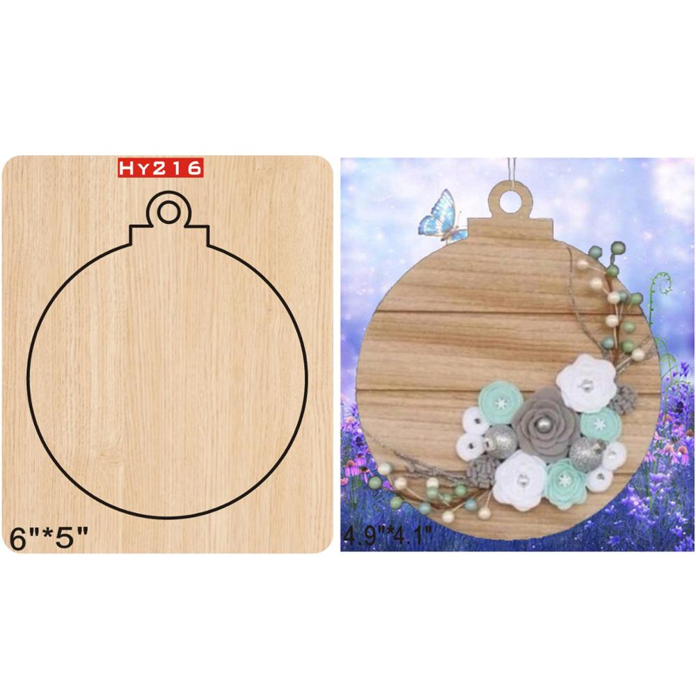 Ornament  Wooden Die New Compatible MY The Details Are Size Mold, Graphic Size,