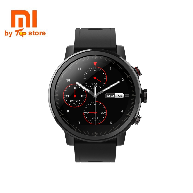 xiaomi mi huami amazfit smart watch stratos 2 english version sports smartwatch with gps ppg heart rate monitor 5atm waterproof Xiaomi Mi Huami Amazfit Smart Watch Stratos 2 English Version Sports Smartwatch With GPS PPG Heart Rate Monitor 5ATM Waterproof