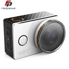 Original Thieye V5e WiFi Cámara 2.3 K Vídeo Ambarella A7LS75 Acción 16MP 170 Grados Lente de la Cámara Del Deporte con Filtros UV