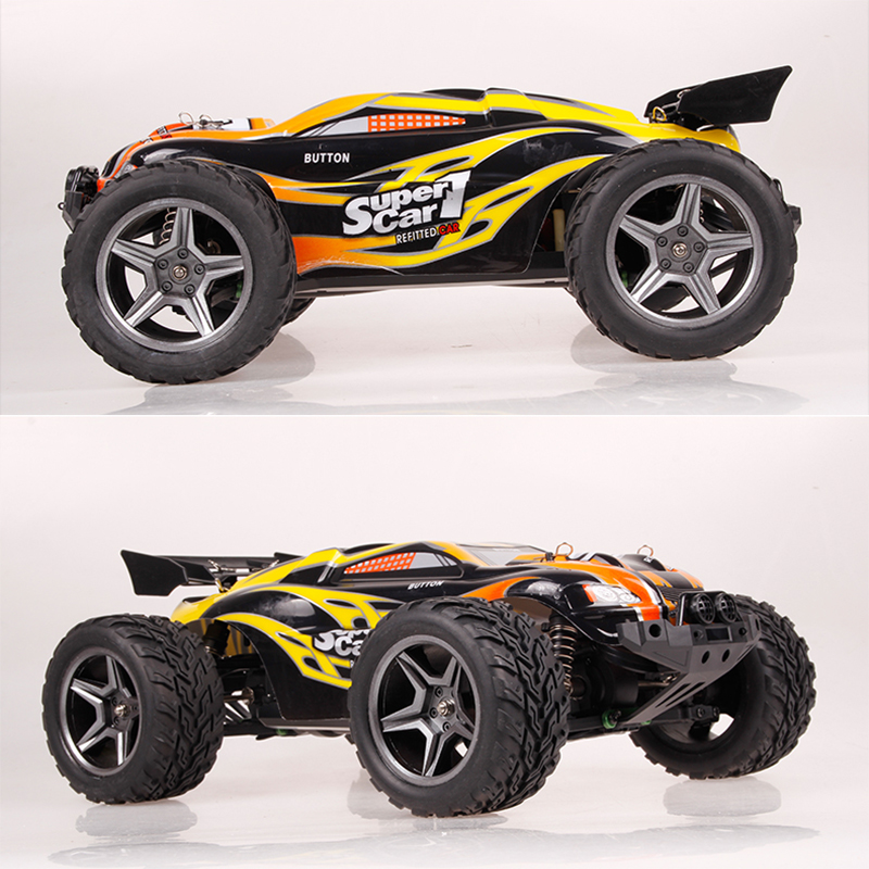 Wltoys 12404 1:12 Large RC Car 2.4G 4WD High Speed Bigfoot Remote Control Car RC Drift Car F1 Racing Car Voiture Telecommande new high speed rc remote control car rc drift double play bumper car wltoys wheels racing model toys for children
