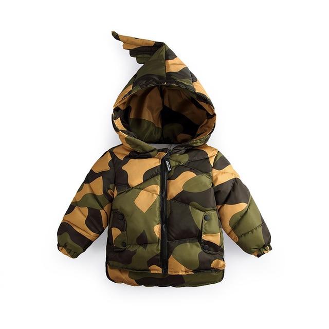 Manteau hiver a capuche