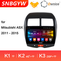 Ownice K1 K2 K3 Android 9.0 2 din Car Radio GPS Android Auto Multimidia Carro for Mitsubishi ASX 2011 2012 2013 2014 2015 DH225