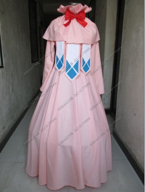 Fairy Tail  Mavis Vermilion Cosplay costume Anime custom any size