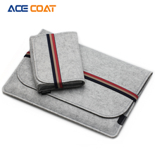 ACECOAT Fashion Soft Sleeve Bag Case For Apple Macbook Air Pro Retina 12 13 15 Laptop Anti-scratch Cover For Mac book 13.3 inch