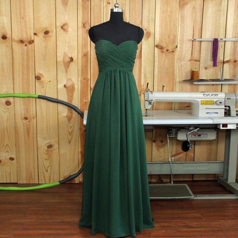 Ücretsiz Kargo Gelinlik Modelleri Uzun Düğün Parti Elbise A-Line - Düğün Abiye - Fotoğraf 5