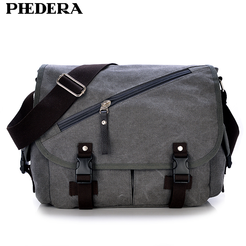 New Brand High Quality Wash Canvas Male Bag Shoulder Messenger Bag Vintage Men Crossbody Bag Wholesale MJH1079 цена