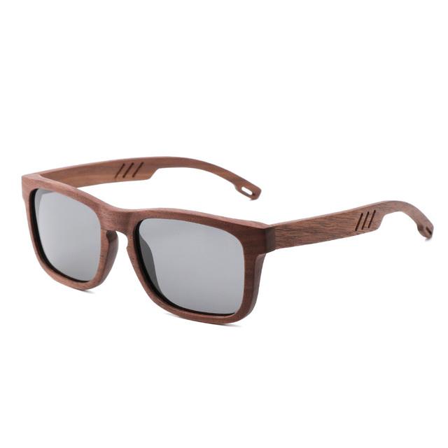 Kingseven Natural Wooden Sunglasses Men Polarized Fashion Sun