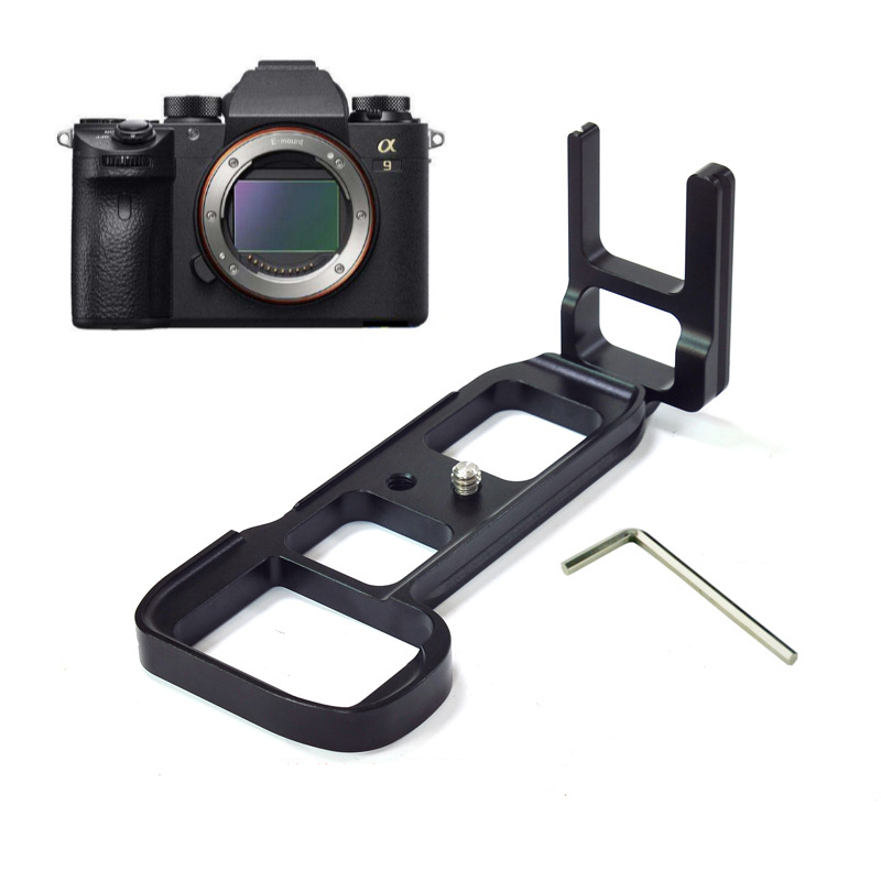 New Arrival 1pc Quick Release L Plate Vertical Bracket Camera Grip + Hex Screwdriver For Sony A9 LB-A9