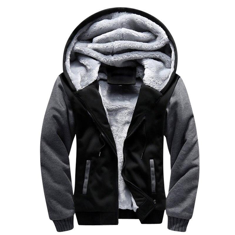 Talla de EE. UU. 2018 hombres invierno otoño patrón en blanco moda europea bombardero hombres chaqueta de lana gruesa Vintage hombres chaquetas de invierno abrigo