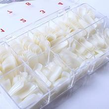 1 коробка, 500 шт, Модные накладные ногти с полным покрытием, накладные ногти, сделай сам с коробкой, инструмент для красоты, искусственные акриловые накладные ногти