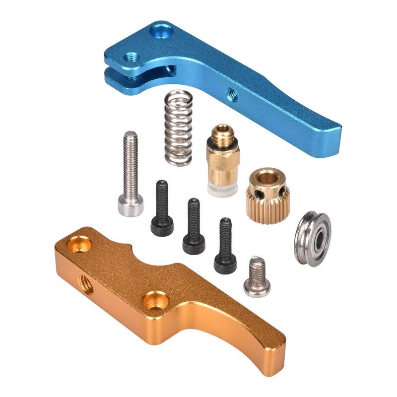 MK8 полностью металлический обновленный Алюминиевый Экструдер MK8 Боуден экструдер для 1,75 мм нити для Delta/Kossel/Reprap Mendel/I3 3D принтер