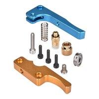 MK8 all metal Upgrade Aluminium Extruder MK8 Bowden extruder for 1.75MM Filament For Delta/Kossel/Reprap Mendel /I3 3D printer