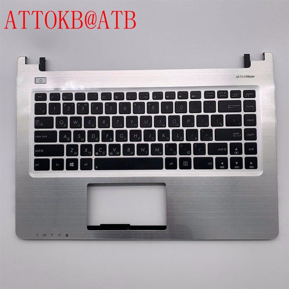 新しい RU Asus K46 R405C K46CA K46CB K46CM E46C A46C S46C S46CB S46CM S46CA ロシアキーボードパームレストトップケースカバー  グループ上の パソコン & オフィス からの 交換用キーボード の中 1