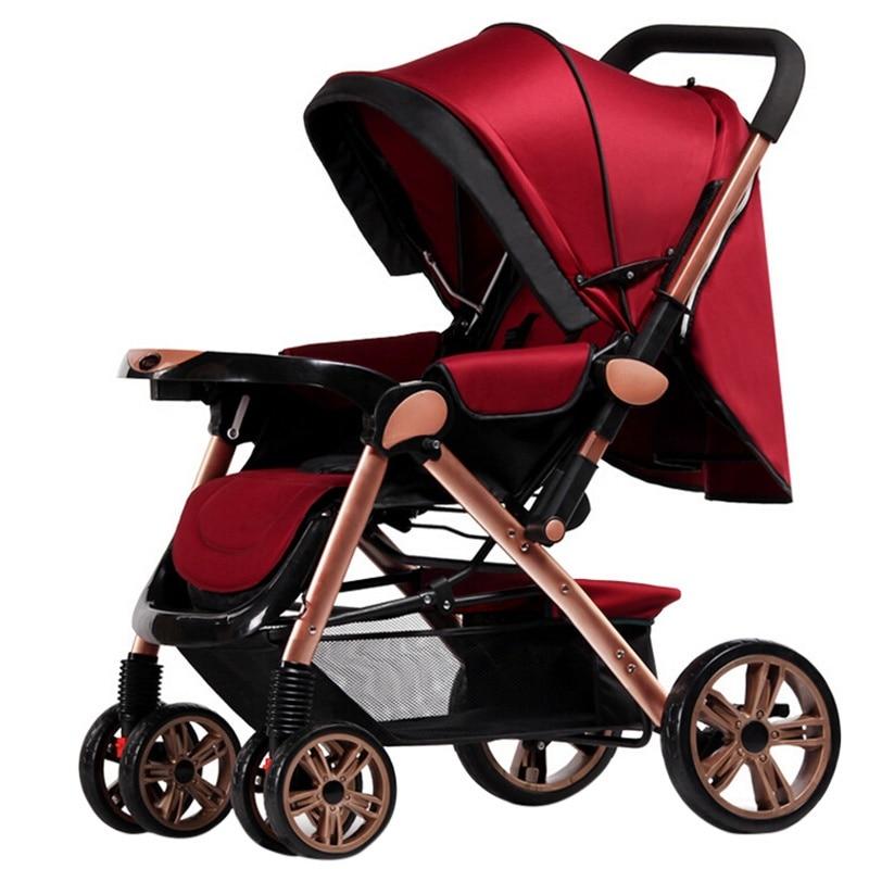 hot sale baby stroller lightweight newborn stroller foldable pram travel system carriage. Black Bedroom Furniture Sets. Home Design Ideas