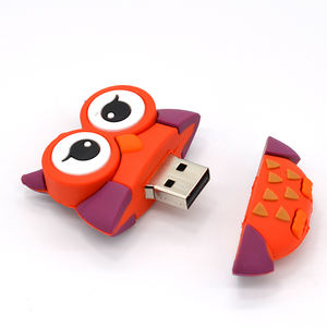 Image 5 - cute penguin owl fox pen drive cartoon usb flash drive pendrive 4GB/8GB/16GB/32GB U disk animal memory stick gift