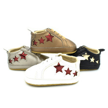 Baby shoes star shaped baby boy shoes casual baby moccasins