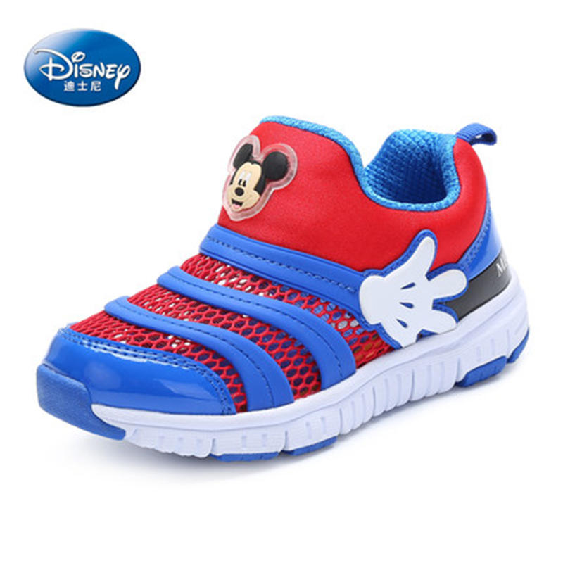 Disney Caterpillar shoes 2019 New Spring  Mesh Sports shoes Child Girl Princess shoes 26 35-in Sneakers from Mother & Kids    2