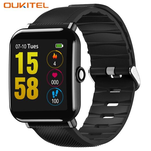 OUKITEL W2 Smartwatch Спорт Bluetooth 4,0 монитор сердечного ритма шагомер мониторинг сна