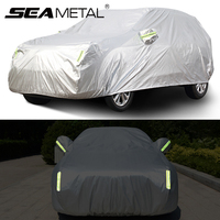 Car Covers Reflective Outdoor Waterproof Snowproof Protection Cover Universal For Sedan SUV ice screen Auto exterior Accessories