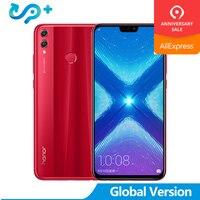 Оригинальный huawei honor 8X honor 8X6,5 дюйма OTA обновление смартфон на Android с поддержкой LTE 8,1 Octa Core 1,5 ГГц 6,5 дюймов Экран