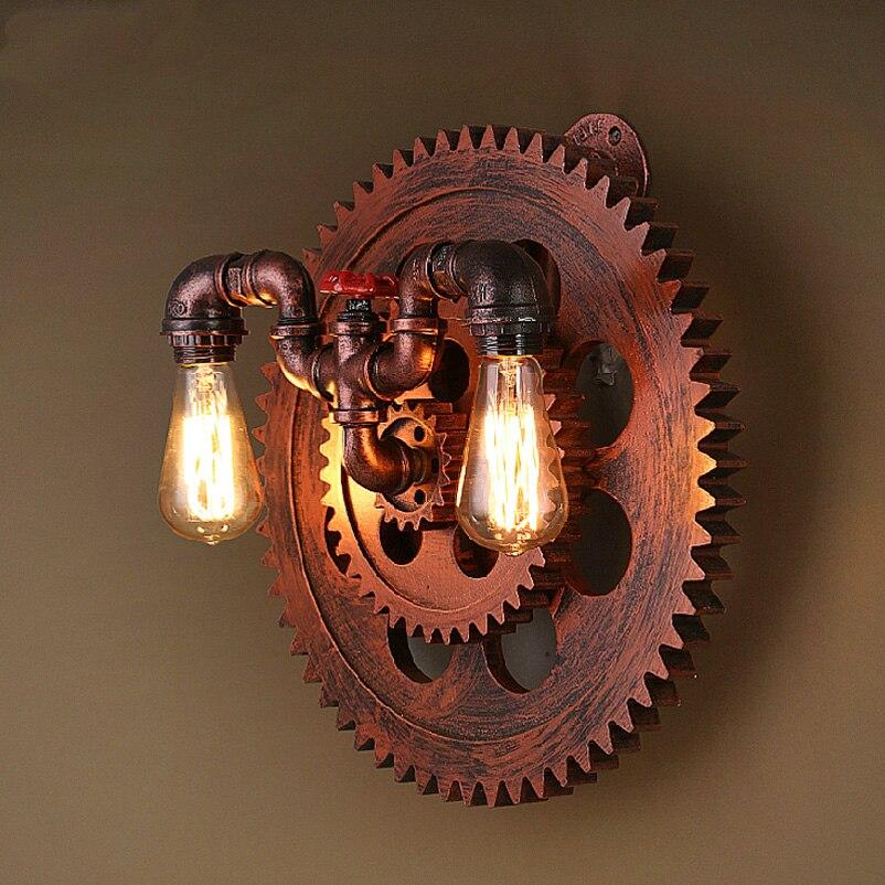 lampada de parede do vintage foyer ac 110 v 240 v 05