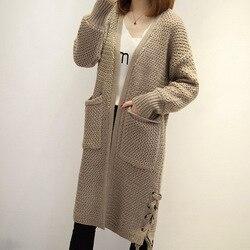 Nieuwe lente/herfst vrouwen truien gebreide vesten moederschap truien dameskleding vrouwen bovenkleding 883